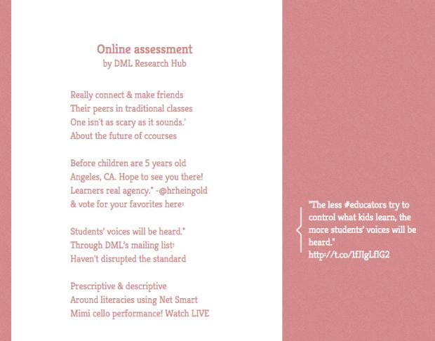DML Twitter Poem